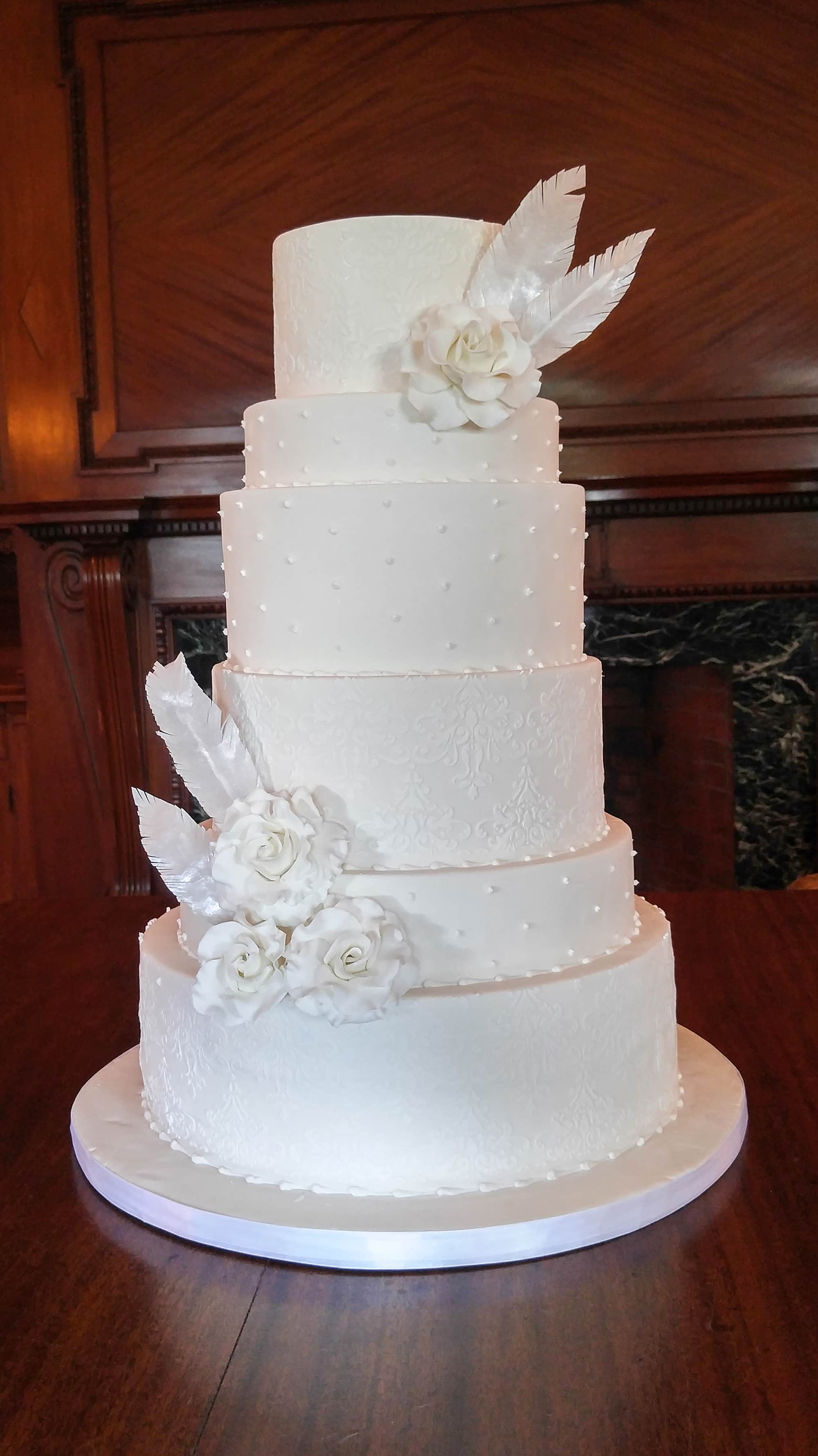 Wedding Cakes The Chocolate Rose